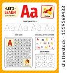 kids learning material.... | Shutterstock .eps vector #1559569433