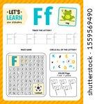 kids learning material.... | Shutterstock .eps vector #1559569490