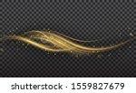 shimmering waves with light...   Shutterstock .eps vector #1559827679