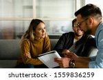 creative people working in...   Shutterstock . vector #1559836259
