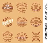 the colorful baker logo is good ... | Shutterstock .eps vector #1559842043