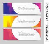 banner design vector background.... | Shutterstock .eps vector #1559912420