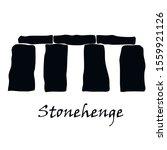 Stonehenge Icon Isolated...