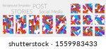 creative backgrounds for social ... | Shutterstock .eps vector #1559983433