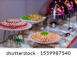 food buffet catering dining... | Shutterstock . vector #1559987540
