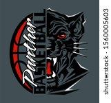 panther basketball team design...   Shutterstock .eps vector #1560005603