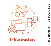 Infrastructure Concept Icon....