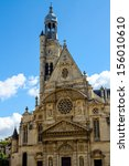 Church Of St Etienne Du Mont I...