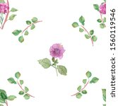 watercolor hand painted nature...   Shutterstock . vector #1560119546
