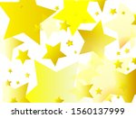 gold stars background. bright... | Shutterstock . vector #1560137999