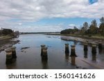 The River Eden Estuary  Seen As ...