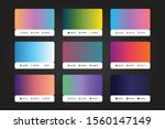 ui ux gradient palette design...