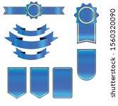 ribbon vector design for... | Shutterstock .eps vector #1560320090