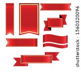 ribbon vector design for... | Shutterstock .eps vector #1560320096