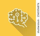 artificial brain icon. simple... | Shutterstock .eps vector #1560356876