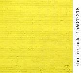 Yellow Brick Wall Texture