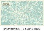lausanne switzerland city map... | Shutterstock .eps vector #1560434003