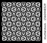 abstract seamless alphabet...   Shutterstock .eps vector #1560448529