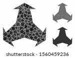 three directions composition of ...   Shutterstock .eps vector #1560459236