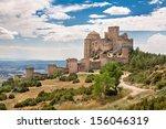 loarre castle in huesca  aragon ... | Shutterstock . vector #156046319