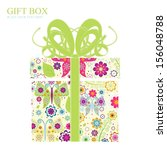 gift box | Shutterstock . vector #156048788