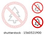 mesh no fir tree model with...   Shutterstock .eps vector #1560521900