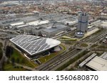 Aerail View Of Bmw Welt From...
