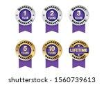 quality certification warranty...   Shutterstock .eps vector #1560739613