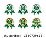 quality certification warranty...   Shutterstock .eps vector #1560739616