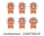 quality certification warranty...   Shutterstock .eps vector #1560739619