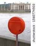 Lifebuoy Ring In Red Box At...