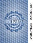 unusual blue emblem or badge... | Shutterstock .eps vector #1560820130