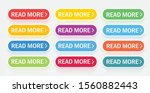 a large collection of buttons... | Shutterstock .eps vector #1560882443