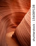 Two Walls Of Sandstone Form A...