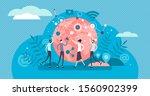 networking business relations... | Shutterstock .eps vector #1560902399