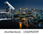 Security Cameras Monitor The...