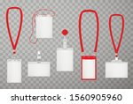 id plastic cards realistic... | Shutterstock .eps vector #1560905960