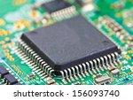 detail of electronic board ... | Shutterstock . vector #156093740