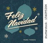 merry christmas card | Shutterstock .eps vector #156095204