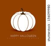 halloween background vector... | Shutterstock .eps vector #156099980