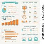 business infographics elements  ...   Shutterstock .eps vector #156100058