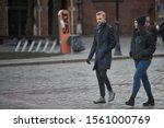 Riga  Latvia   17.11.2018 Young ...