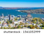 Quebec City  Panorama Of The...