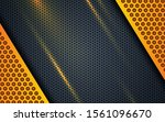 yellow abstract backgrund... | Shutterstock .eps vector #1561096670