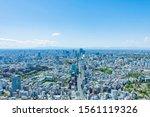 Tokyo City Skyline   Japan.