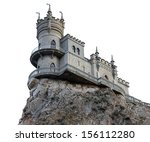 Castle Swallow's Nest Isolated...