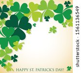 Shamrock Clover St Patricks Da...