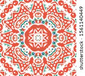 traditional ornate mexican... | Shutterstock .eps vector #1561140449