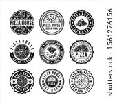 badge stamps pizza house...   Shutterstock .eps vector #1561276156