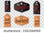 set tag price label promotion ... | Shutterstock .eps vector #1561366960